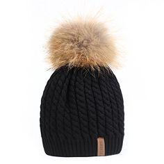 FURTALK Crochet Knit Fur Hat with Real Fox Fur Pom Pom Bo... https://www.amazon.com/dp/B01LW0744C/ref=cm_sw_r_pi_dp_x_N23sybX3JMYT1