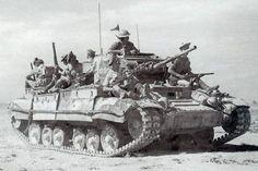 Tanque Valentine, Norte de África.