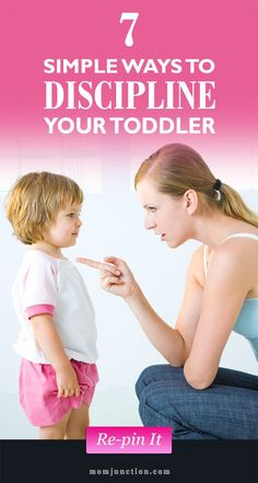 7 Simple Ways On How To Discipline Your Toddler: We bring some effective ways to help you discipline toddler and encourage the right behavior from the very beginning of his life. #Parenting