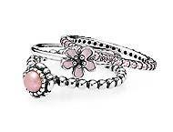 Just something awesome to stack with this amazing flower ring :) #PANDORA #PANDORAring #Gift
