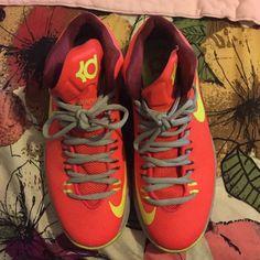 DMV KDs Worn a few times. Bottom of shoe dirty, no box supplied Nike Shoes