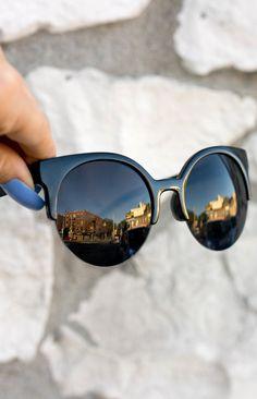 85682074e20 Retro round Sunnies - Black Black. Round Face SunglassesCute ...
