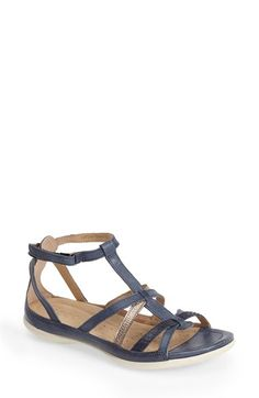 ECCO 'Flash' T-Strap Sandal (Women) available at #Nordstrom