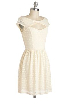You're My Everything Dress in Ivory, #ModCloth