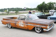 """59 """"El Camino Oxidado""""..Re-pin brought to you by agents of #carinsurance at #houseofinsurance in Eugene, Oregon"""