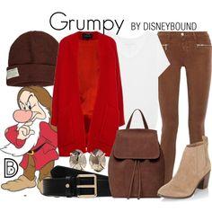 Disney Bound - Grumpy
