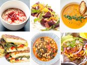 Awesome vegan foods.