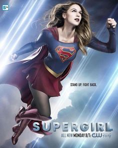 Daily CW Supergirl — New Supergirl Poster [x]