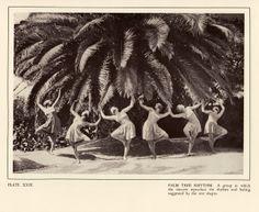 """Palm tree rhythm"", choregraphe: Margaret Morris, ca. 1920, photo: Fred Daniels"