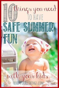 All the gear you need to make summer with a baby and little kids safe, easy, and FUN! (scheduled via http://www.tailwindapp.com?utm_source=pinterest&utm_medium=twpin&utm_content=post81695879&utm_campaign=scheduler_attribution)