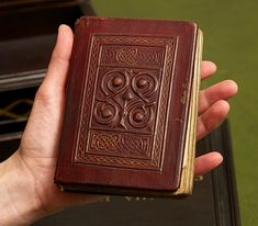 The binding of the 7th century St Cuthbert Gospel