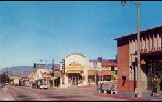 Corner of Foothill Blvd. and Commerce St. Tujunga.