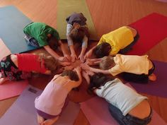 Fun yoga for kids ideas...