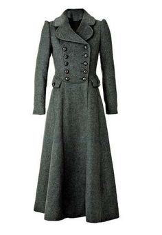 This is for a woman, but I like the military-style buttons... For the man.