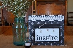 The Farm House Kitchen Recipe Book was made using papers and embellishments from Canvas Corp Brands Farm House Kitchen line.  This recipe book is a fairly easy but detailed project, I've included lots of photos and instructions so you can make one for yourself.