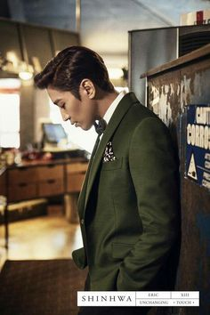SHINHWA 13TH UNCHANGING-TOUCH CONCEPT PHOTO- ERIC