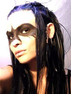 Tribal Wire Wrap Feather Ear Cuff Wrap and Earring Set  by XXXavia,