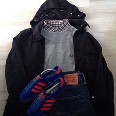 Casual Attire, Casual Outfits, Football Casuals, Mod Fashion, Clothing Items, Sportswear, Street Wear, Menswear, Casual Styles