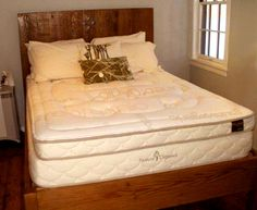 Eco Sanctuary on our exclusive Sierra bed frame