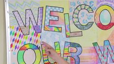 Ellison Education Video Series: Welcome Banner Bulletin Board, made with participation from your new students!