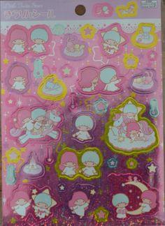Japanese Shining Stickers- Little Twin Stars