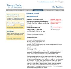 Freehold - Manufacturer of Hermetically Sealed Ref.GK188 Location South Wales Asking Price £ 4,500,000 Rupert Cattell Turner Butler Rupert Cattell TurnerButler Rupert Cattell we sell business Rupert Cattell Businesses for sale Turner Butler Rupert Cattell Turner Butler Testimonial Rupert Cattell Rupert Cattell Successful Business Broker
