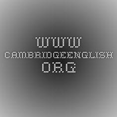 WEBINARS for Teachers - http://www.cambridgeenglish.org/teaching-english/resources-for-teachers/webinars/