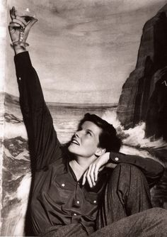 Androgynous Katharine Hepburn in Sylvia Scarlett, 1935