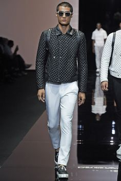 Emporio Armani Men's RTW Spring 2015 - Slideshow