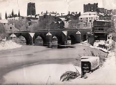 Vintage views of Durham City Uk History, Family History, Durham City, St Johns College, Durham Cathedral, Snow Forest, North East England, Northern England, Most Beautiful Cities
