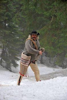 Folk costume from Zakopane (Podhale region), Poland - vintage mountain rescuer. European Clothing, Folk Clothing, Folk Costume, Costumes, Zakopane Poland, Polish People, Polish Folk Art, Folk Style, Human Poses