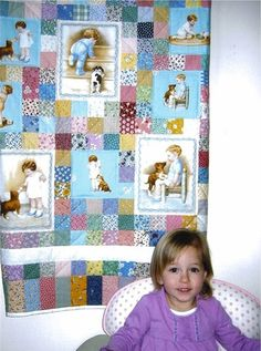 children's quilts | like this children's quilt by Betty Allen