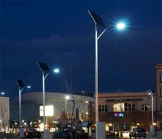 Solar Lighting Applications to Make Your Community Green