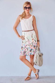 Tamaris Sommer-Kleid »aus luftigem Chiffon« im Online Shop von Ackermann Versand #Garten #Sommer Trends, Chiffon, Elegant, Summer Dresses, Fashion, Long Dresses, Fashion Women, Summer, Silk Fabric