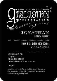 174 best graduation invitations images on pinterest prom party