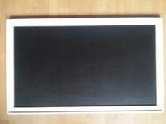 Tablica do kredy czarna. Wymiary 100cm x 60cm. Farba Tikkurila Liitu.
