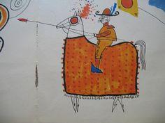John Rombola Bullfighter Detail by Library Fashionista, via Flickr
