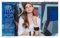 Gallerist Magazine Model Fernanda Abbott PH Um2 Estudios Beauty Vanessa Sena #mua #makeup #hairdo #sisley