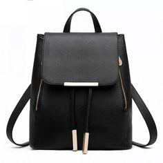 7b37dd446395 Top-handle Backpack High Quality PU Leather For Teenage Girls