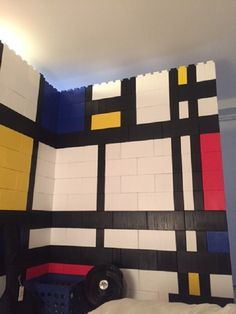 Giant LEGO Bricks Allow You To Build Full-Size Furniture And Structures