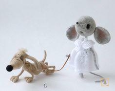 Project by Elena Himichenko. Mouse Sofia Crochet pattern by Svetlana Pertseva for LittleOwlsHut #LittleOwlsHut, #Amigurumi, #CrohetPattern, #Crochet, #Crocheted, #Mouse, #Pertseva, #DIY, #Craft, #Pattern