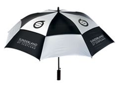 Sunderland Golf Umbrella Black/Silver FEATURES:amp