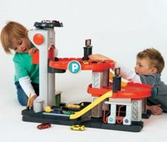 Boys toy Garage for cars