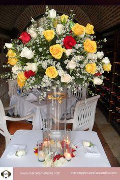 Decoracion Floral para Eventos Cartagena de indias Colombia