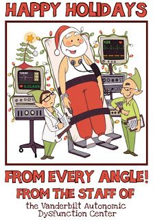 I LOVE this card made last year by Angela Pascale!  She is an incredible artist who also has Dysautonomia.  MERRY CHRISTMAS FROM ♥ Too Many Heartbeats ♥