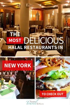 Looking for the Best Halal restaurants in New York? Then you must check out these delicious places serving halal food.