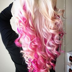 PINK! Done by PMTS Sherman Oaks Future Professional Noel !