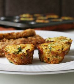 Zucchini Tots are a healthy play on tater tots that are baked in a mini-muffin tin for crispy edges.