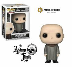 Uncle Fester Funko Pop Vinyl The Addams Family Funko Pop Dolls, Funko Pop Figures, Vinyl Figures, Funko Toys, Pop Vinyl Collection, Funk Pop, Pop Toys, Pop Characters, Pop Television