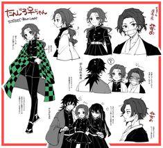 炭治郎♀ - Twitter検索 / Twitter Anime Chibi, Fanarts Anime, Kawaii Anime, Manga Anime, Anime Art, Character Inspiration, Character Design, Gender Bender Anime, Estilo Anime